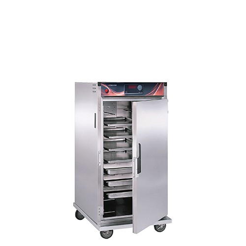 CresCor H-137-SUA-9D Intermediate Height Insulated Mobile Heated Cabinet