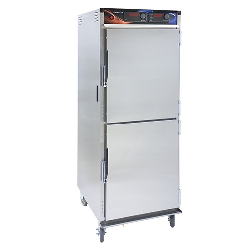 CresCor H-137-WSUA-12D Aqua Temp Stainless Steel Insulated Mobile Heated Cabinet