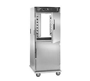 CresCor H-138-PS-1834D Mobile Stainless Steel Insulated Pass-Thru Holding Cabinet