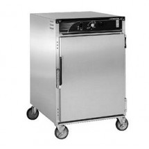 CresCor H-138-S-1816D Insulated Stainless Steel Mobile Heated Cabinet