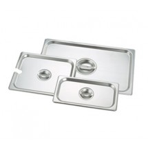 Crestware 5160 Steam Table Pan 1/6 Size Flat Cover