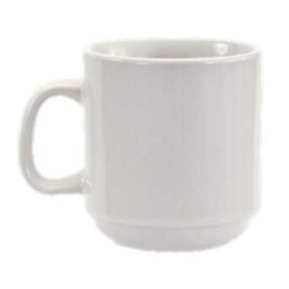Crestware AL15 12 oz. China Mug - 3 doz