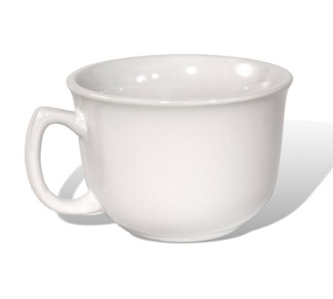 Crestware AL24 24 oz. China Mug - 2 doz