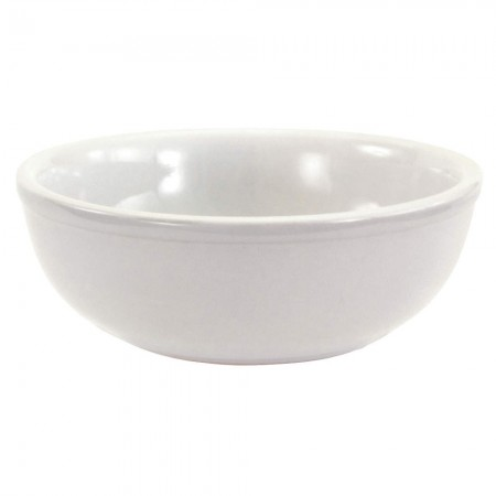 Crestware AL33 Alpine White Nappie Bowl 12 oz. - 3 doz