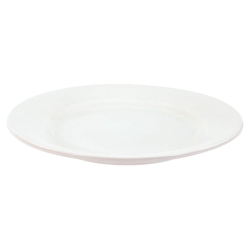 "Crestware ALR47 12"" China Plate - 1 doz"