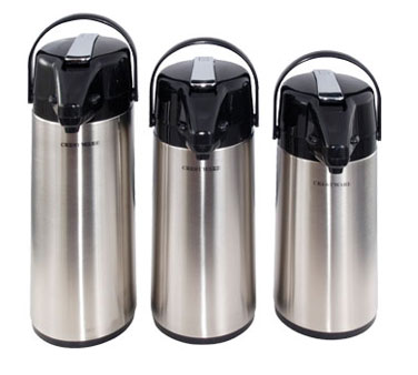Crestware APL25G Glass Lined Airpot 2.5 Liter