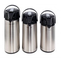 Crestware APL25S Stainless Lined Airpot 2.5 Liter