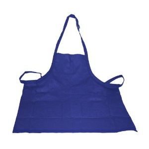 Crestware BAN Two-Pocket Bib Apron, Navy