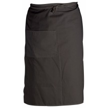 Crestware BBL Black Two-Pocket Bistro Apron