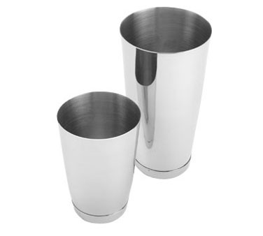 Crestware BS28 Stainless Steel Bar Shaker 28 oz.