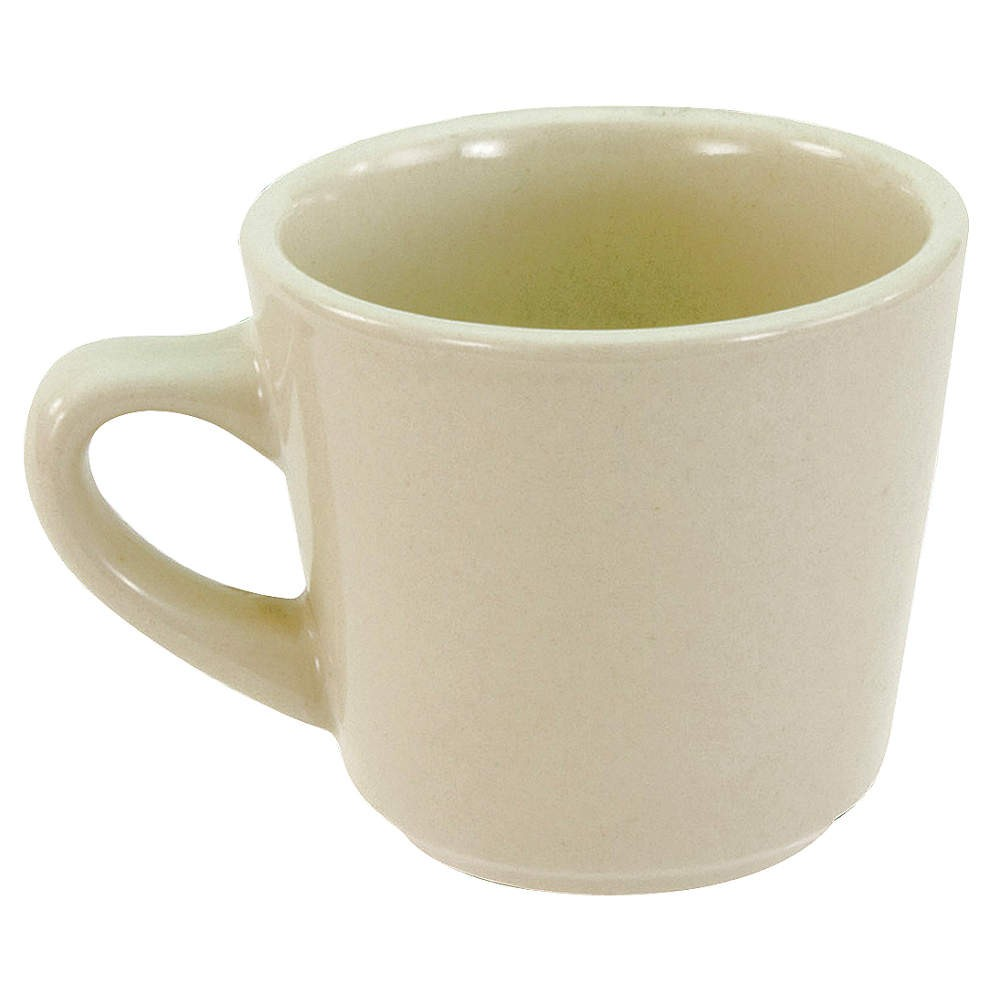 Crestware CM11 7 oz. China Cup - 3 doz