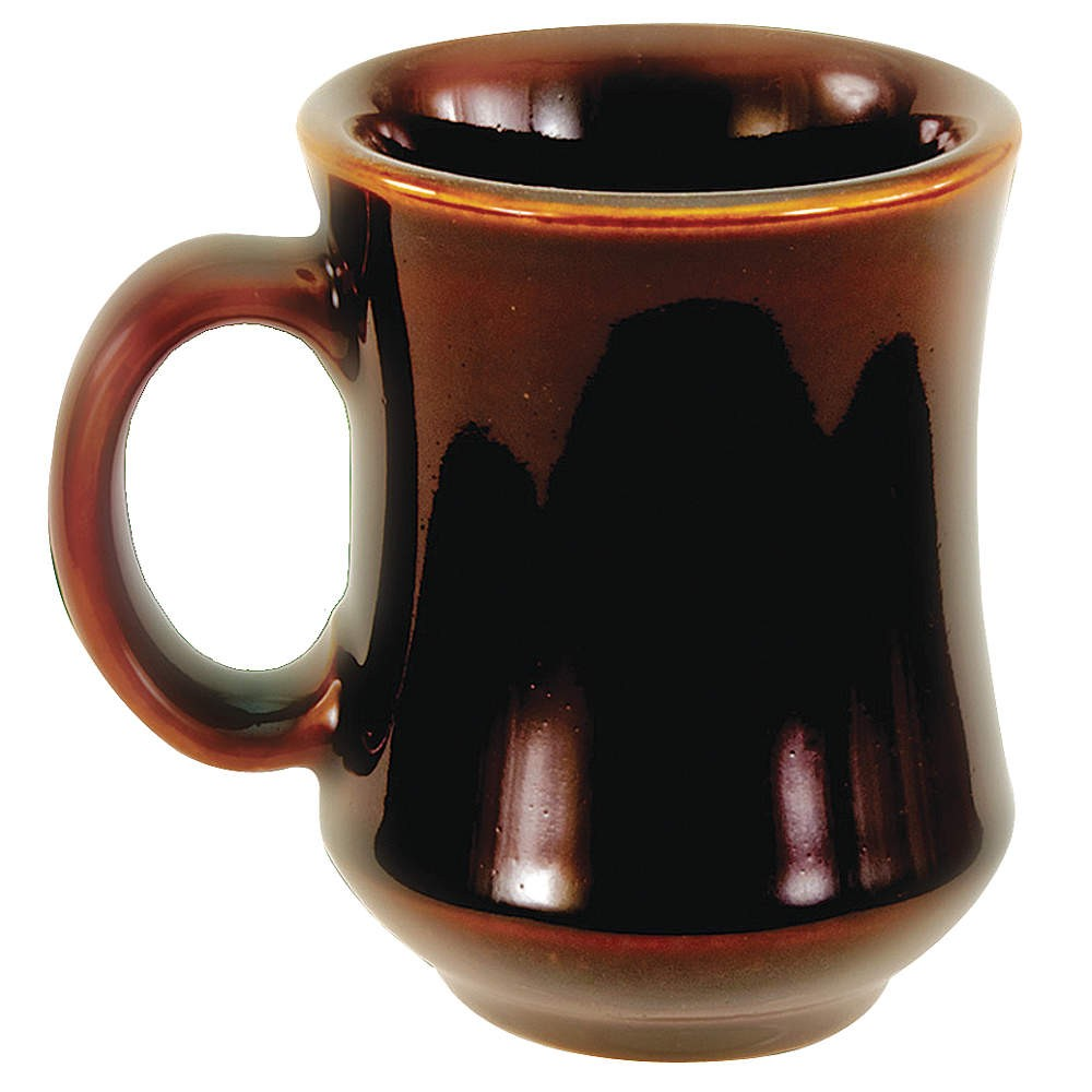 Crestware CM41C Caramel Bell Shaped Mug 7.5 oz. - 3 doz