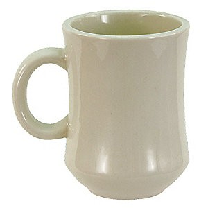 Crestware CM41W 7.5 oz. China Mug - 3 doz