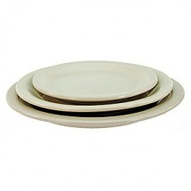 "Crestware CM44 9"" China Plate - 2 doz"