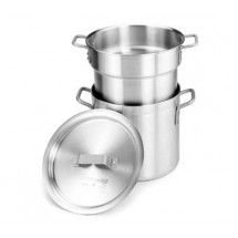 Crestware DBL16 Double Boiler 16 Qt. Stock Pot