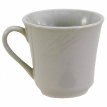 Crestware FR18 Firenze Bright White Kin Mug 7 oz. - 3 doz