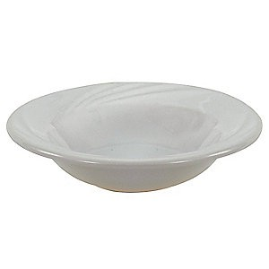 Crestware FR31 Firenze Bright White Fruit Dish 4 oz. - 3 doz