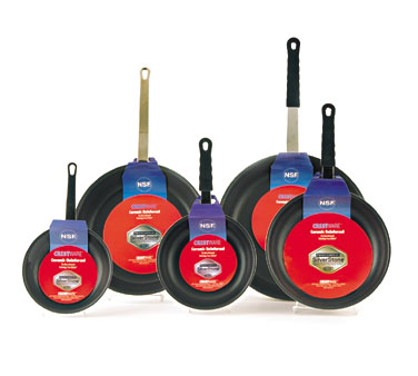 Crestware FRY07S Teflon Fry Pan with Dupont Coating 7-1/2