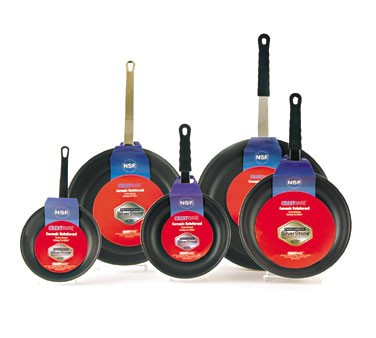 Crestware FRY07SH Teflon Fry Pan with Dupont Coating and