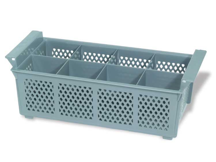 Crestware FWB8 8 Compartment Flatware Basket
