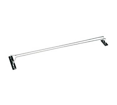 Crestware GCHR24 Chrome Glass Hanging Rack 24""