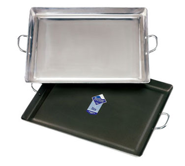 "Crestware GRIDM Medium Aluminum Griddle 19"" x 15"""