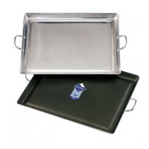"Crestware GRIDMX Medium Non-Stick Aluminum Griddle 19"" x 15"""