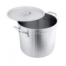 Crestware HPOT40 Extra Heavy Weight Aluminum 40 Qt. Stock Pot