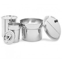 Crestware IP02.5 Stainless Steel Round Inset Pan 2.5 Qt.