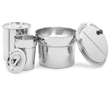Crestware IP11 Stainless Steel Round Inset Pan 11 Qt.