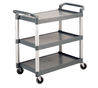 Crestware LTROLLEY Large 3 Tier Utility Cart