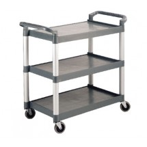 Crestware-LTROLLEY-Large-3-Tier-Utility-Cart