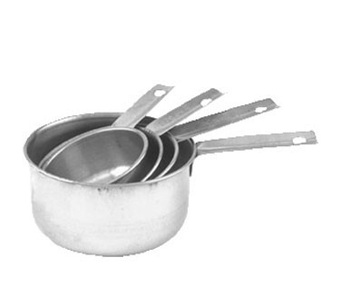 Crestware MEACP Stainless Steel Measuring Cup Set