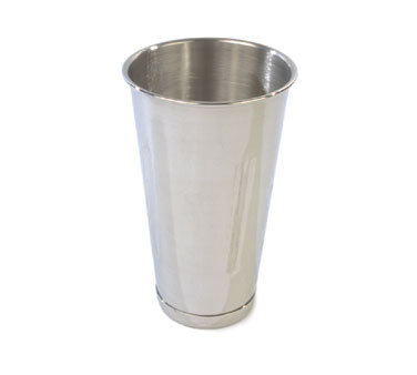 Crestware MLT30 Stainless Steel Malt Cup 30 oz.