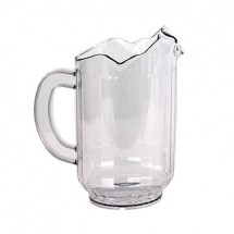 Crestware P60SP Three-Spout Water Pitcher 60 oz.