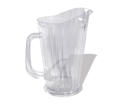 Crestware P60T Tapered Water Pitcher 60 oz.