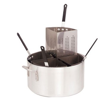 Crestware PASTA20I Stainless Steel Insert For 4-Compartment Pasta Cooker 20 Qt.