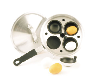Crestware POAEC 1.5mm Aluminum Egg Poacher Cup
