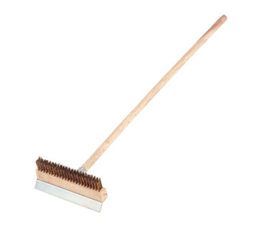 "Crestware POB40 40"" Pizza Oven Brush"