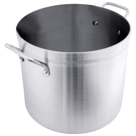 Crestware POT100 Aluminum Stock Pot 100 Qt.