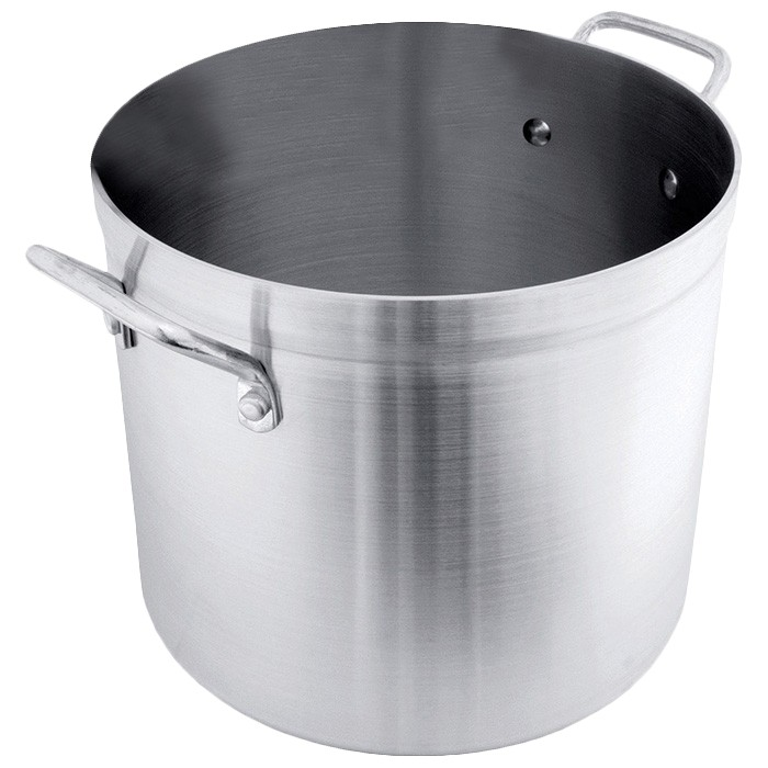 Crestware POT160 Aluminum Stock Pot 160 Qt.