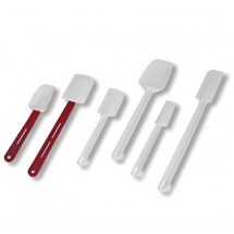 "Crestware PS95S Spoon Shaped Spatula / Scraper 9-1/2"" - 1 doz"