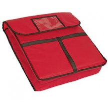 Crestware PZB20 Red Pizza Bag 20""