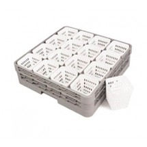 Crestware RCH Square Rack Cutlery Holder - 52 pcs