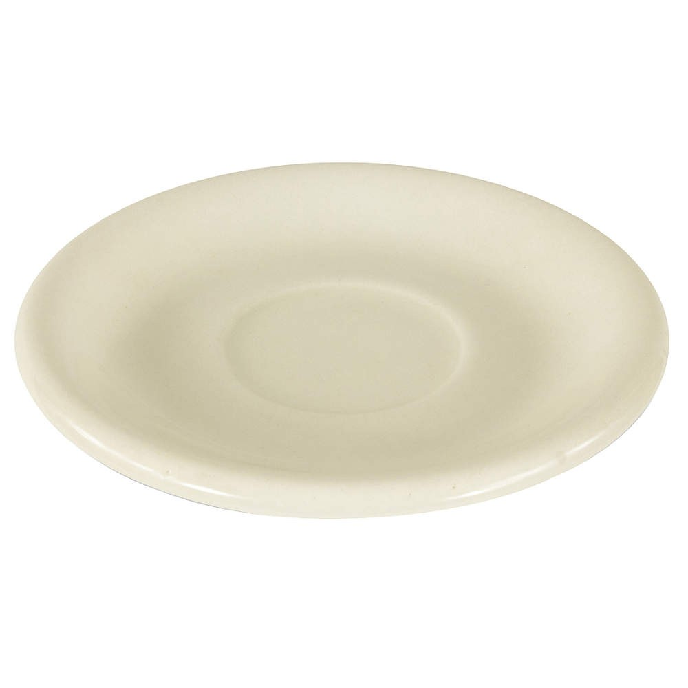 "Crestware RE21 Dover White Rolled Edge Saucer 6"" - 3 doz"