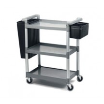 Crestware RTROLLEY Regular 3-Tier Utility Cart