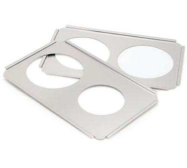 Crestware SAP8 Adapter Plate Holds Two 7 Qt. Inset Pans