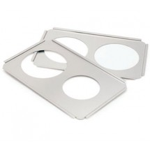 Crestware SAP8 Stainless Steel Adapter Plate (2) 8-1/2""