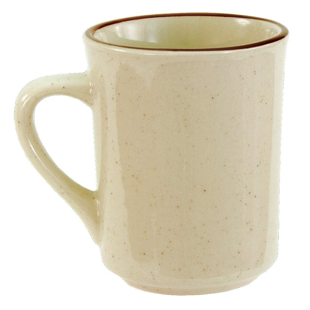 Crestware SC16 8.5 oz. China Brawny Mug - 3 doz