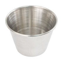 Crestware SC2 Stainless Steel Sauce Cup 2.5 oz.